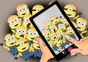 Minions on crowd